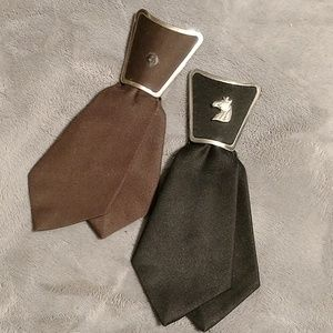 Vintage Western short ties